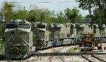Primered BNSF C4's