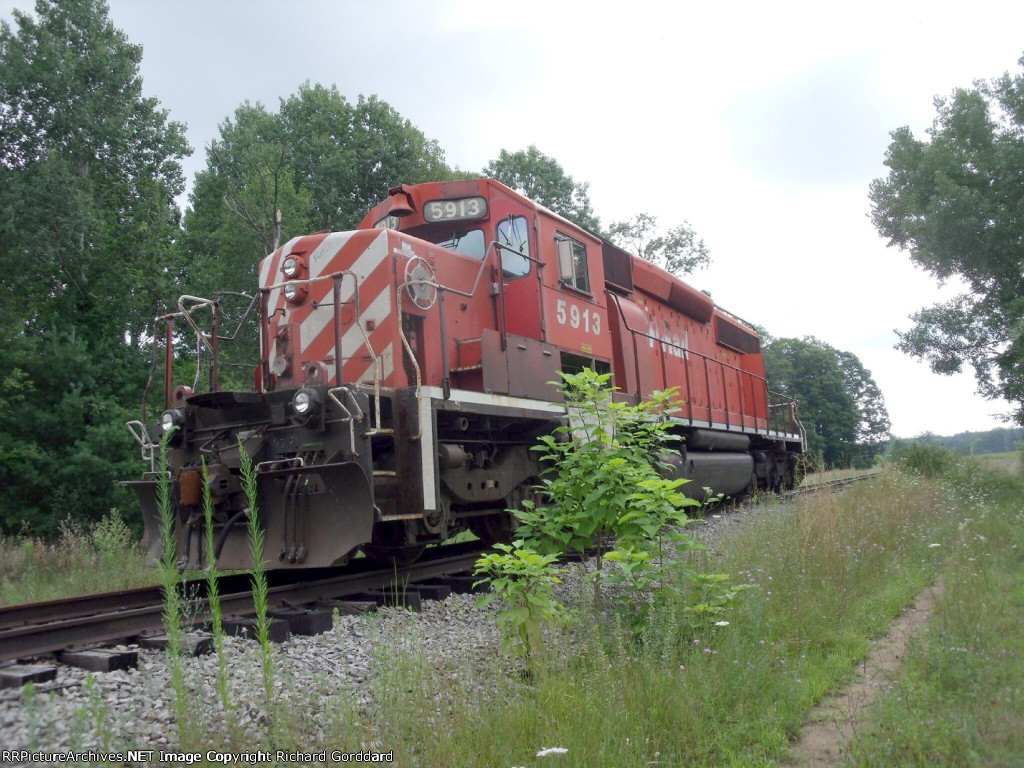 Dead CP Unit on ex D&H wye