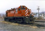 CP 1828 in The D&H Oneonta Yard