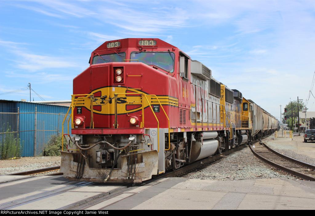 BNSF Port Job in Stockton