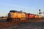 UP Grain Train in Stockton