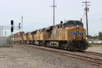 UP Stack Train in Stockton