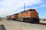 BNSF Autorack Train at Stockton