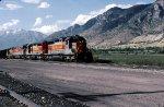 Utah Railway moving Coal