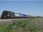 First coal train to Edwardsport