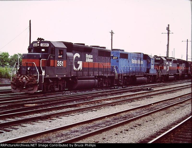 B&M Guilford at Potomac Yards - 1988