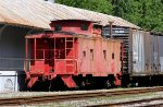 Old caboose at the ready