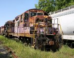 Carolina Southern #943 in faded WCL paint