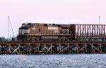 NS #9573 at the marina