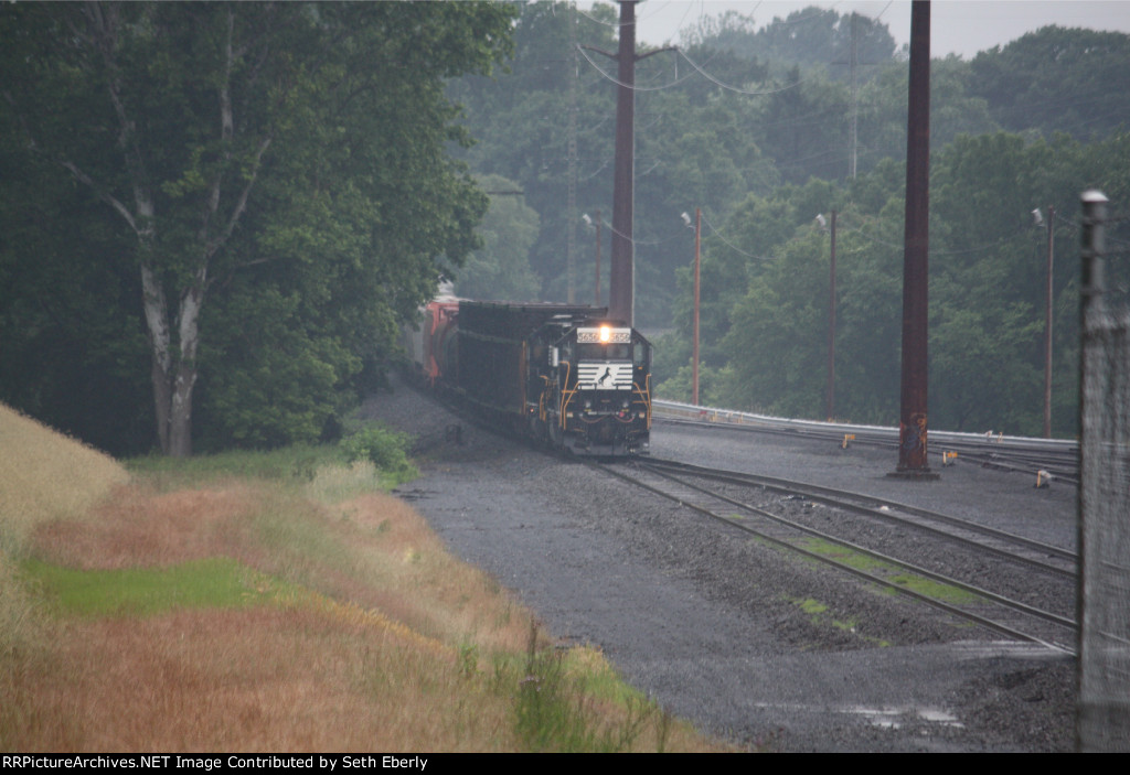 NS H30 passing the deers home on the Left