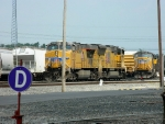 UP 5550 (AC45CCTE) 3837 (SD70M) 4908 (SD70M)
