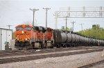 Westbound BNSF Crude Oil Train