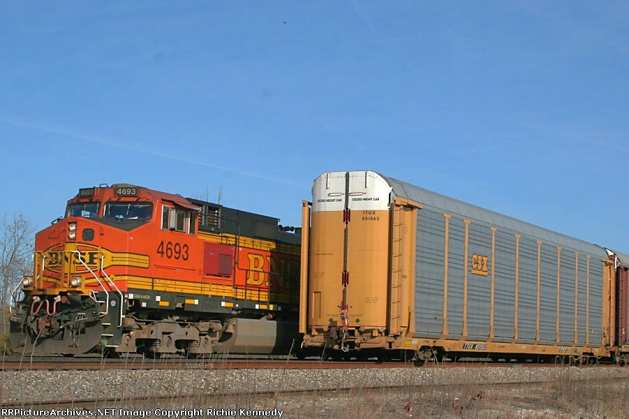 Westbound rolling aggain