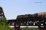 CSX Z550 on the L&I Bridge