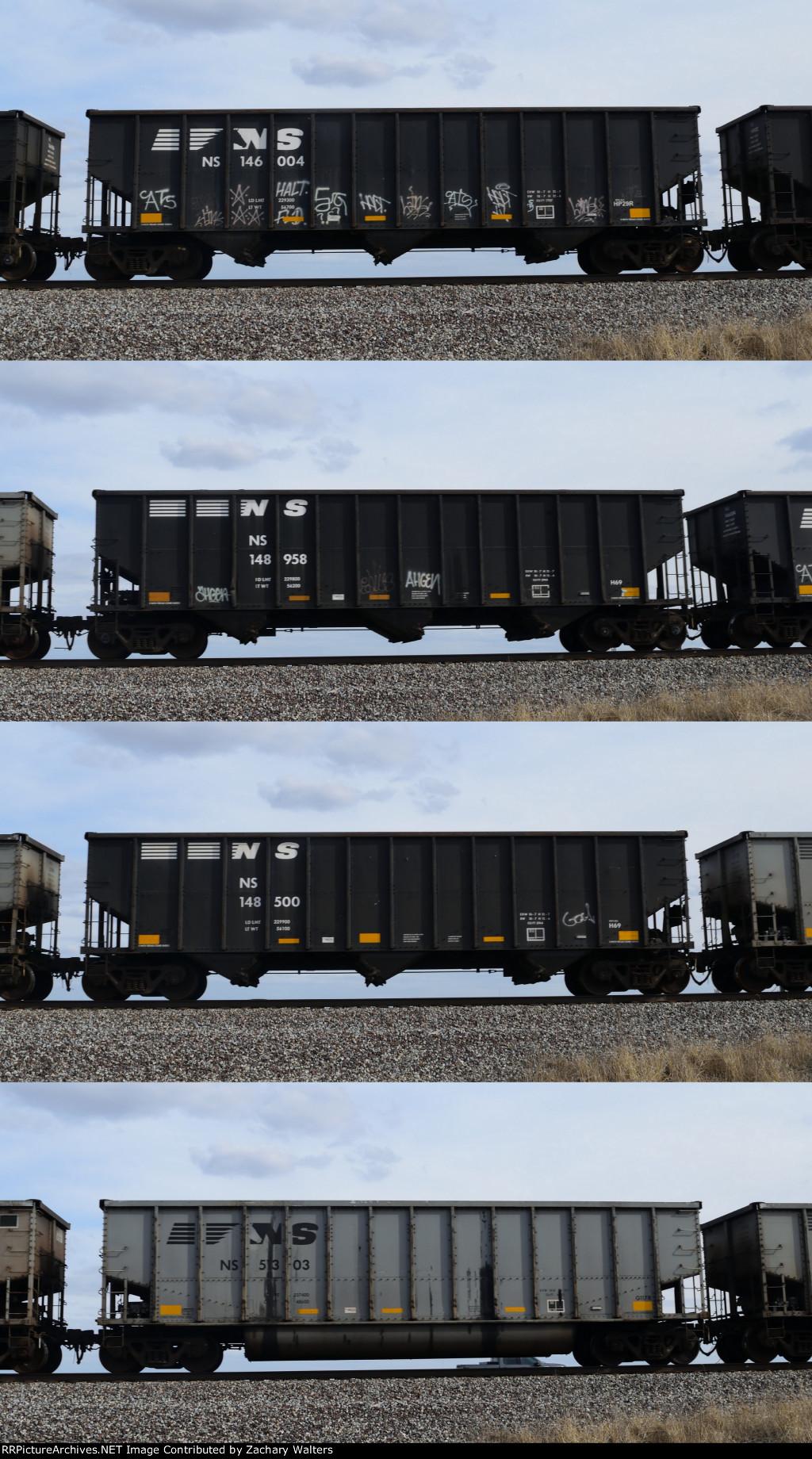 NS Coal Hoppers