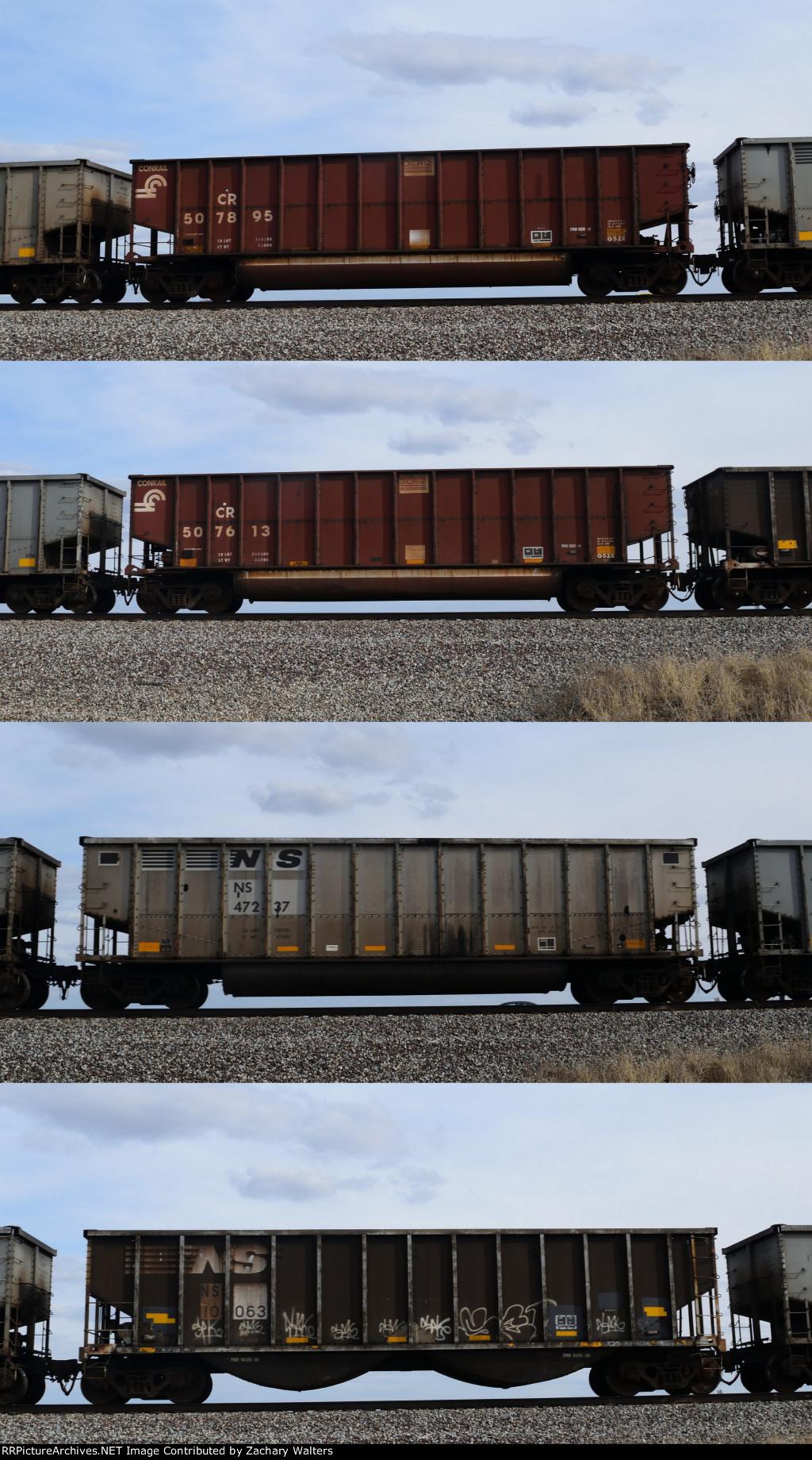 CR NS Coal Hoppers