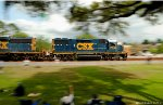 Panning Past Railfans!