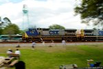 Panning Past Railfans at Railwatch!