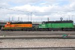 BNSF 1812 & BNSF Working The Yard