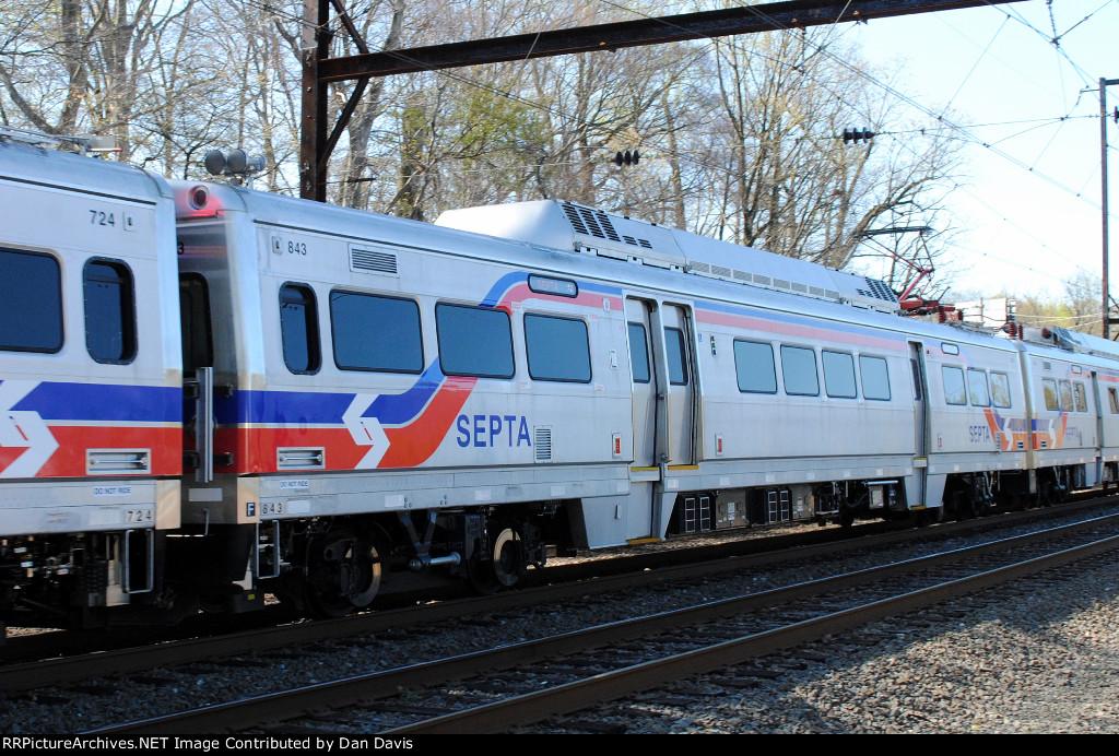 SEPTA Silverliner V 843