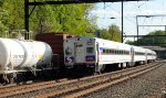 SEPTA Train 6374 alongside Q439-27