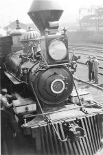 UP 58 locomotive from Cecil B DeMilles film Union Pacific - 1939