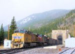 UP 5936 UP 6325 Patched SP Loaded Coal at Moffat Tunnel