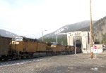 UP 6603 Mid-Train DPUs at Moffat Tunnel