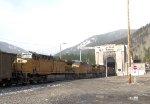 UP 6603 Mid-Train DPUs at Moffat Tunnel