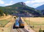 "Amtrak 25 Train #5 ""California Zephyr"" and a Friendly Wave"