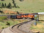 BNSF 6264 Short Manifest at the Hot Box Detector 22.6