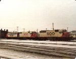 SD40-2 #740, GP38-2 & F-7A