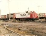 GP40#732 & GP30