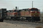 BNSF 5323 and 1062