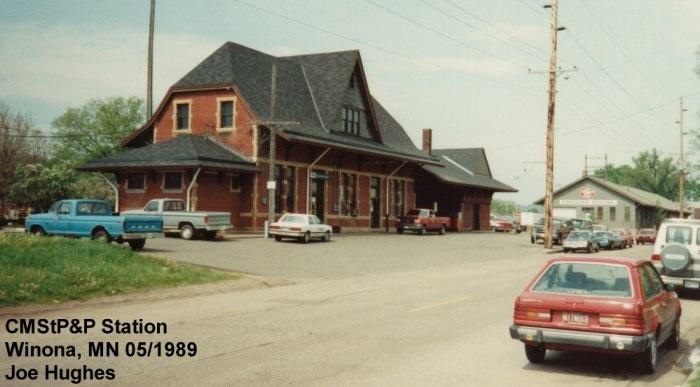 CMStP&P Station