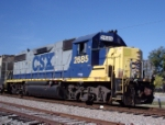 CSX 2685 rolls through the Defect Detector in Suffolk County
