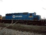 CSX's last Locomotive in Conrail paint.