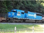 Some Blue action at Horseshoe Curve