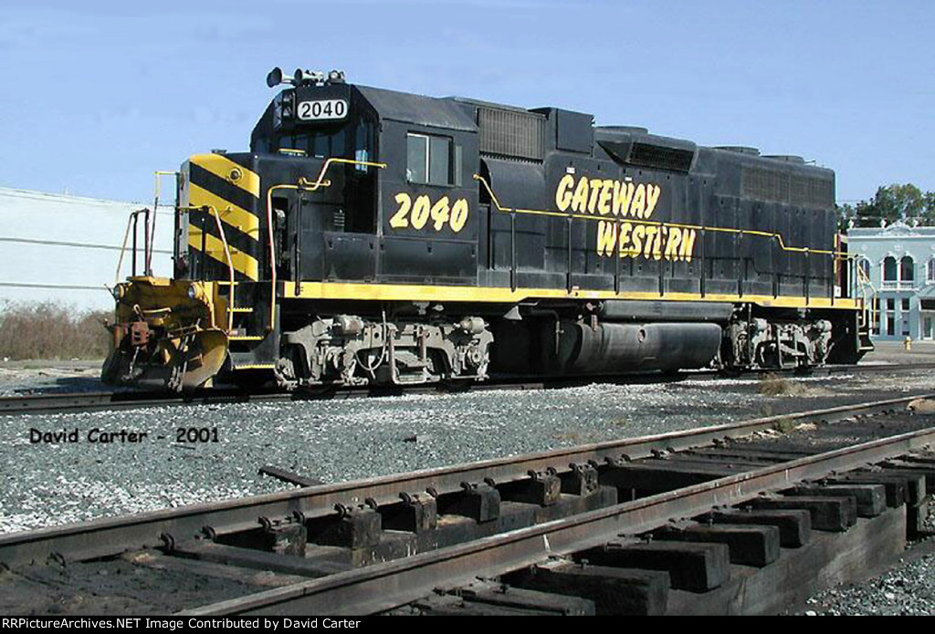 2040 parked by the Gulfport yard office