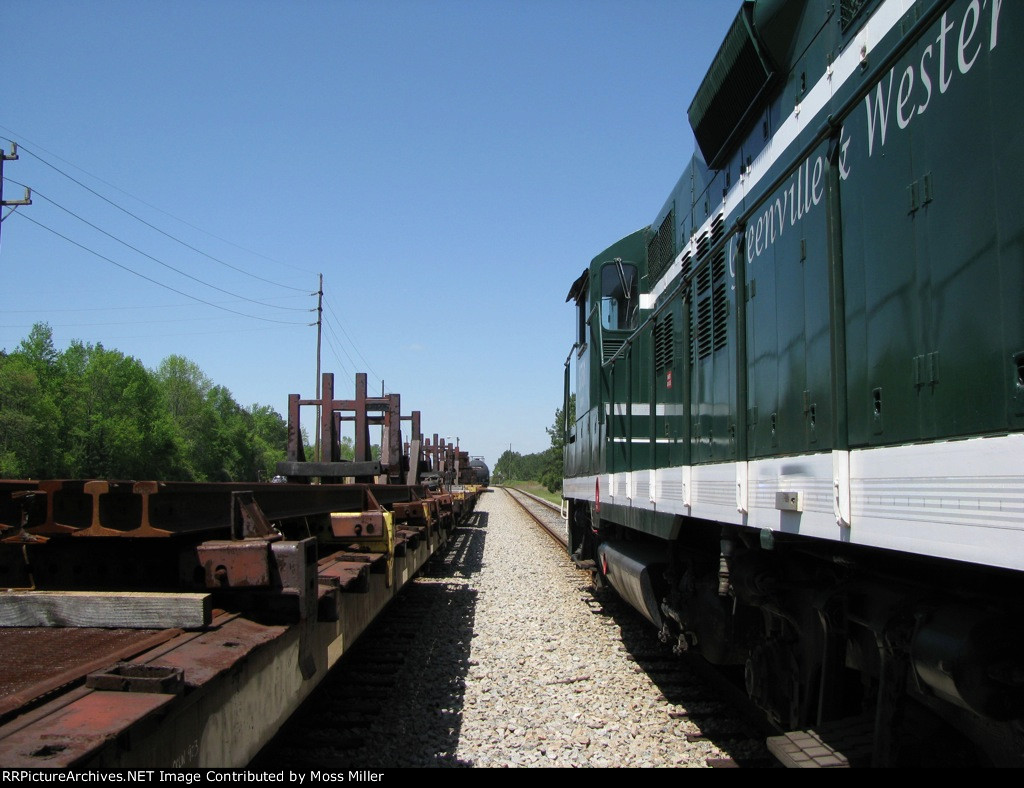 Between the Rails!