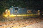 CSX ES40DC #5420 on Q702-28