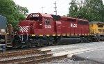 HLCX SD40-2 #7203 on Q418-30