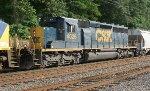 CSX SD40-3 #4026 on Q438-29