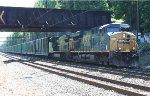 CSX ES40DC #5321 on Q703-01