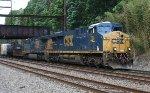 CSX ES44AC #789 on Q417-01