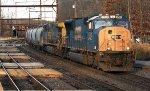 CSX SD70MAC #4743 on Q439-25