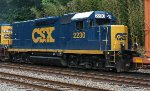 CSX Road Slug #2230 on Q706-02