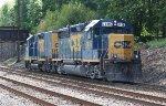 CSX GP40-2 #6406 on C770-05