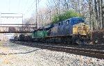 CSX ES40DC #5401 on Q439-26