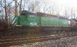 HLCX SD40-2 #7921 on Q439-26